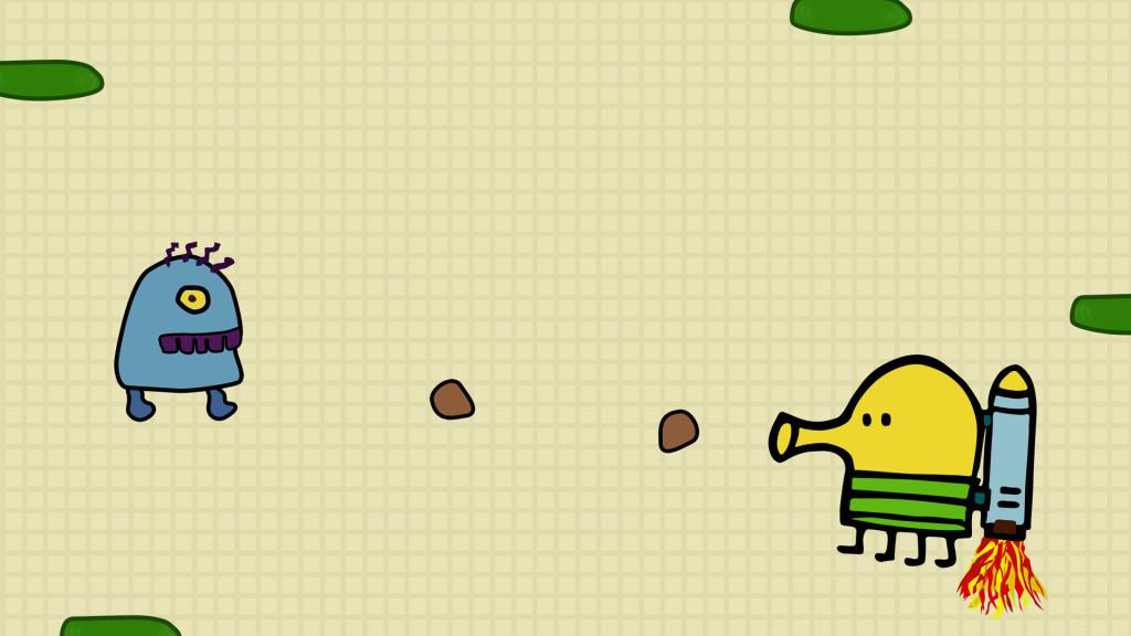 Doodle Jump llega a Nintendo DS y 3DS