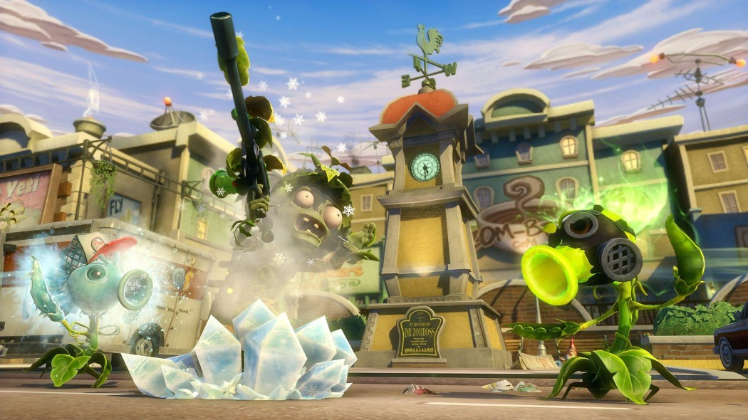 Ficha 'Plants vs. Zombies: Garden Warfare'