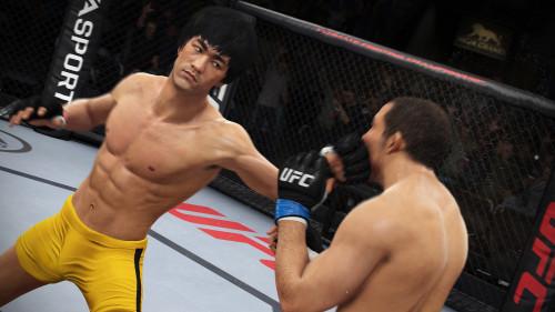 Bruce Lee se convirtió en el luchador más popular de 'EA Sports UFC'