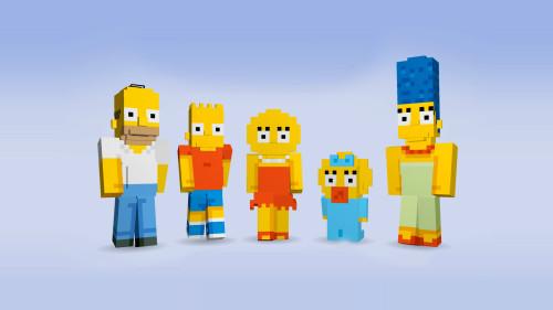 Los Simpsons llegan a Minecraft
