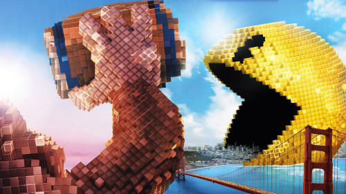 """Pac-Man y Donkey Kong invaden la Tierra en la nueva película """"Pixels"""""""