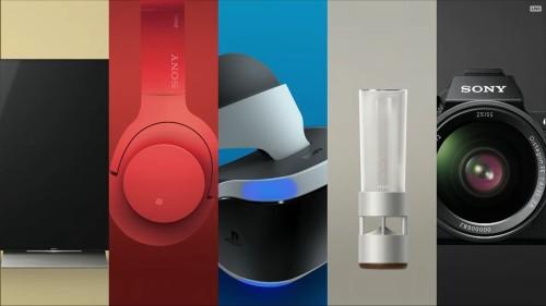 Sony presentó sus productos en la Feria CES 2016