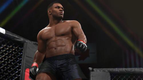 Una leyenda viviente llena de gloria el octágono de UFC 2