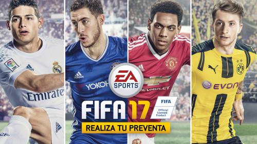 FIFA 17 potenciado por innovaciones en el gameplay y un nuevo motor de juego