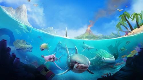 Los tiburones hambrientos están de regreso con Hungry Shark® World