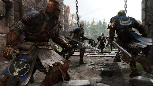 'For Honor': Tres nuevos héroes se enfrentan en el nuevo modo táctico