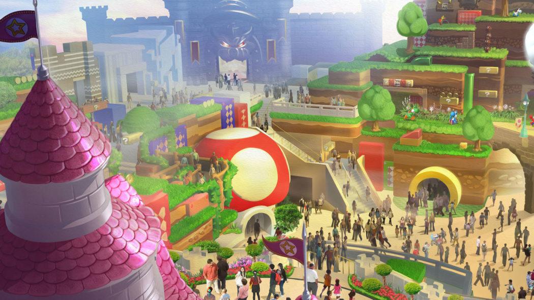 'Super Nintendo World' será el parque de atracciones de Mario Bros