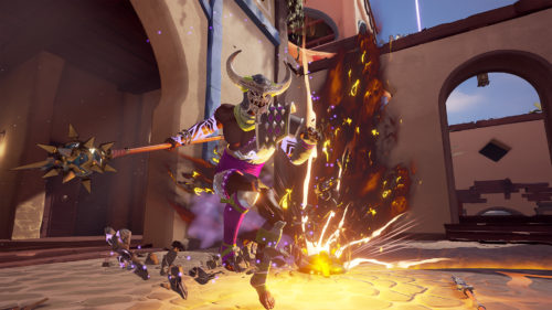 Introducción a Taurant, el Toro Brutal de 'Mirage: Arcane Warfare'