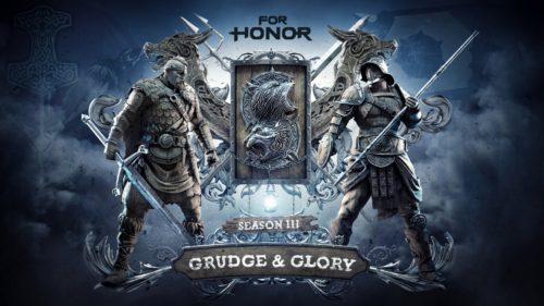 """""""Grudge & Glory"""", la tercera temporada de For Honor®, se estrena el 15 de agosto"""