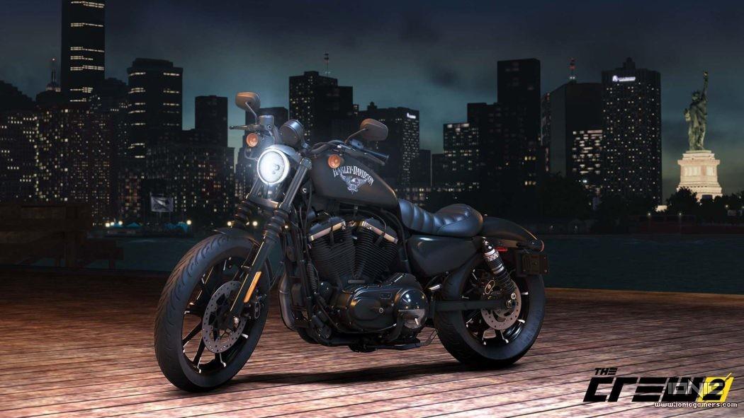 Domina el asfalto en el mundo abierto Norteamericano de The Crew con Harley Davidson