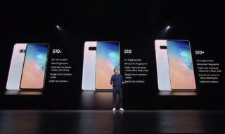 Galaxy S10, Galaxy S10+ y Galaxy S10e: todo sobre los nuevos smartphones de Samsung
