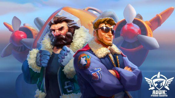 HAWK Freedom Squadron: Shooter de aviones arcade