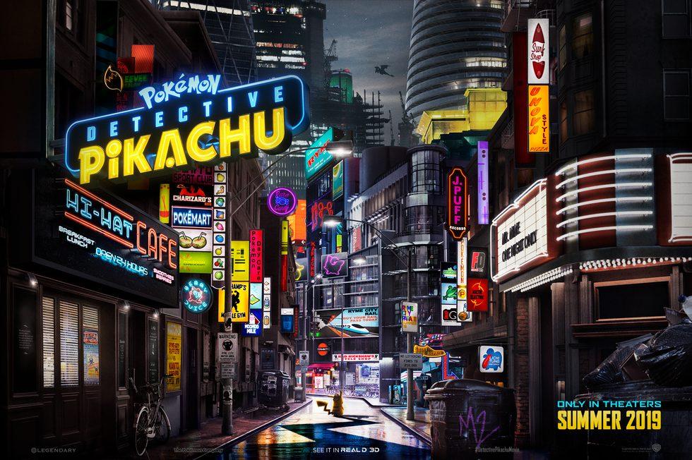 El mundo de Pokémon cobra vida: llega el Detective Pikachu