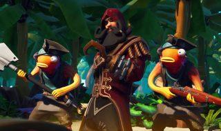 Dónde están los campamentos piratas en el mapa de Fortnite